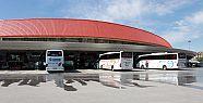 Konya'da otobüs terminallerinde hizmet