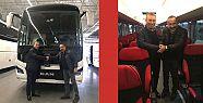MAN 13 metre 2+1 VIP ilk otobüs MAPAR'da