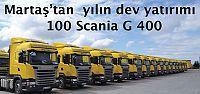 Martaş 100 Scania çekici aldı