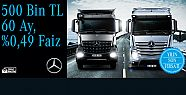 Mercedes-Benz Türk'ten kamyonda yılın