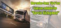 Mercedes-Benz Türk'ten kamyon sahiplerine...