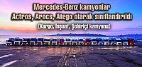 Mercedes kamyonlar Actros, Arocs, Atego...