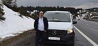 Mercedes Vito ile 1073 km'lik test sürüşü