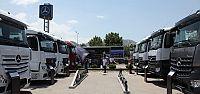 Mercedes, yeni kamyonlarıyla Türkiye'yi...