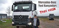 Mercedes'in yeni kamyonlarını test ettik
