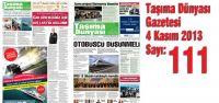 Taşıma Dünyası Gazetesi_111_PDF 4 Kasım 2013