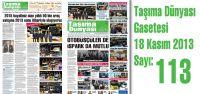Taşıma Dünyası Gazetesi_113_PDF 18 Kasım 2013