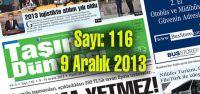 Taşıma Dünyası Gazetesi_116_PDF 9 Aralık 2013