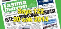 Taşıma Dünyası Gazetesi_122_PDF 20 Ocak 2014