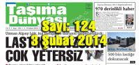 Taşıma Dünyası Gazetesi_124_PDF 03 Şubat 2014