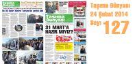Taşıma Dünyası Gazetesi_127 PDF 24 Şubat 2014