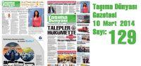 Taşıma Dünyası Gazetesi_129 PDF 10 Mart 2014
