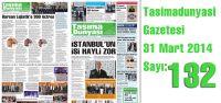 Taşıma Dünyası Gazetesi_132 PDF 31 Mart 2014