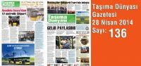Taşıma Dünyası Gazetesi_136 PDF 28 Nisan 2014