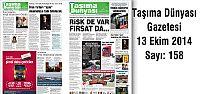 Taşıma Dünyası Gazetesi_158 PDF 13 Ekim...