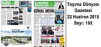 Taşıma Dünyası Gazetesi_192 PDF 22 Haziran...