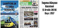 Taşıma Dünyası Gazetesi_257 PDF 5 Aralık...