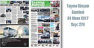 Taşıma Dünyası Gazetesi_274 PDF 24 Nisan