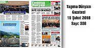 Taşıma Dünyası Gazetesi 308 PDF 19 Şubat