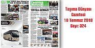 Taşıma Dünyası Gazetesi 324 PDF 16 Temmuz
