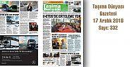 Taşıma Dünyası Gazetesi_332 PDF 17 Aralık
