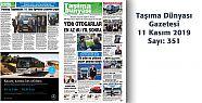 Taşıma Dünyası Gazetesi 351 PDF 14 Kasım