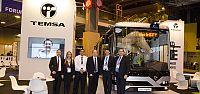 Temsa elektrikli otobüs Fransa'da tanıtıldı