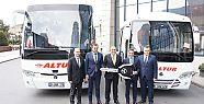 TEMSA Altur Turizm'e 120 otobüs teslim