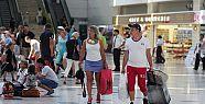 Turist sayısı 19 milyonu geçti