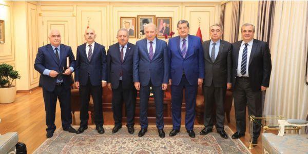 TOFED İBB Başkan Mevlüt Uysal görüştü