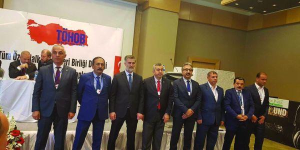 TÖHOB yeni Başkanı Ercan Soydaş oldu