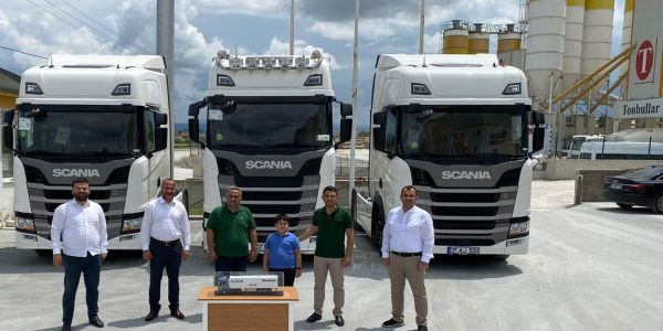 Tombullar Beton 3 Scania aldı