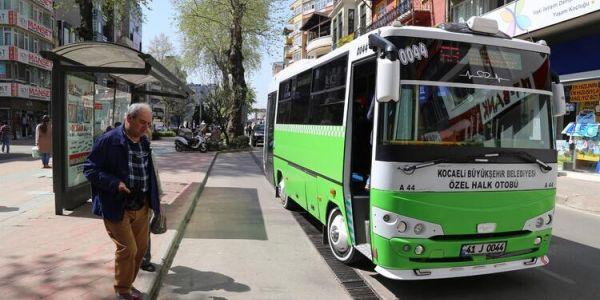 Toplu taşıma esnafına 5.5 milyon TL ödeme yapıldı