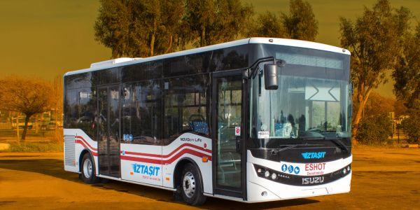 Toplu ulaşımda 28 yeni otobüs ile İZTAŞIT dönemi başlıyor