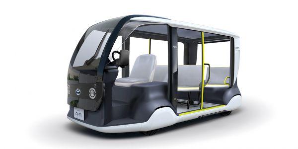 Toyota'dan 2020 Tokyo Olimpiyatları için özel araç