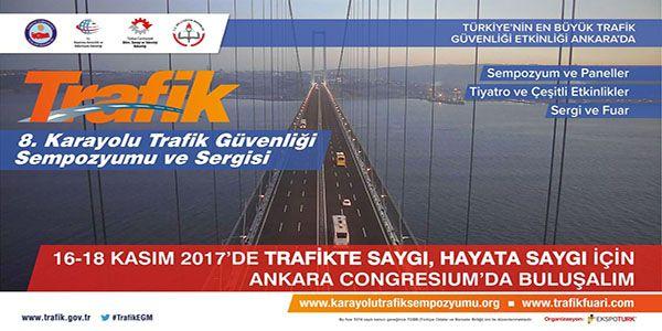 Trafik Güvenliği Sempozyum ve Fuarı 16-18 Kasım'da