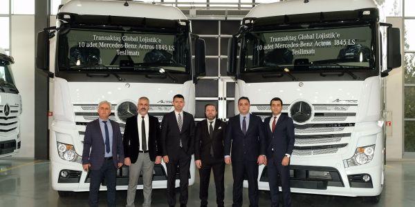 "Transaktaş Global Lojistik bu kez ""Mercedes"" dedi"