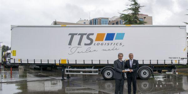 TTS Lojistik, Intermodal'de Tırsan dedi
