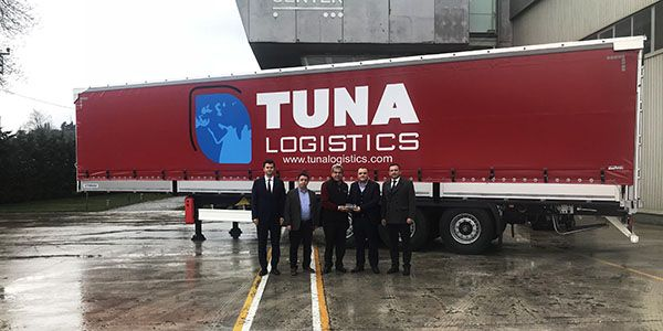 Tuna Lojistik'e 100 adetlik teslimat
