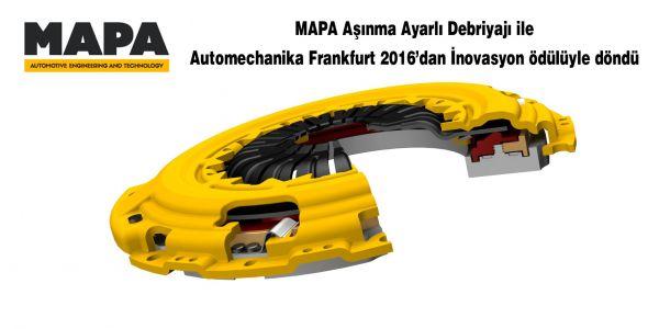 Türk Debriyajına Almanya'dan İnovasyon Ödülü