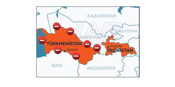 Türkmenistan, Türk tırlarını geçirmiyor