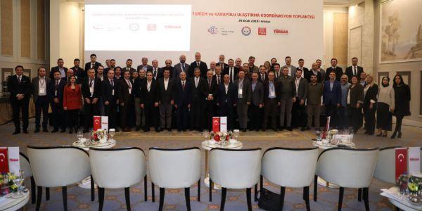 TURSAB ve Belediyeler Antalya'da buluştu