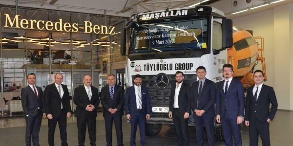 Tüylüoğlu Grup'tan 35 Mercedes Arocs yatırımı