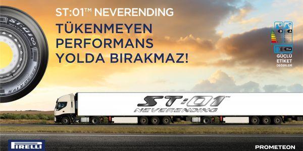 Uluslararası taşımacılar için yeni lastikler