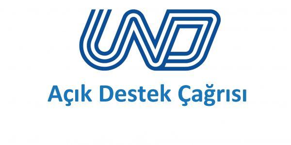 UND'den Açık Destek Çağrısı