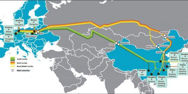 UPS, Çin-Avrupa tren yoluna 6 durak daha ekledi