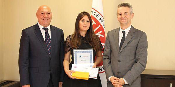 Utikad 2017 yılının genç forwarder adayını ödüllendirdi