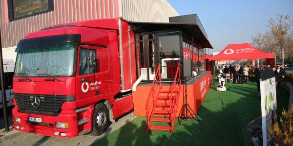 Vadofone dijitalleşme tırı Türkiye turunu tamamladı