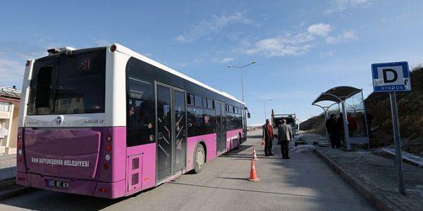 Van Büyükşehir Belediyesi 20 yeni otobüs alacak