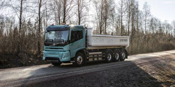 Volvo Elektrikli Kamyon talep bekliyor